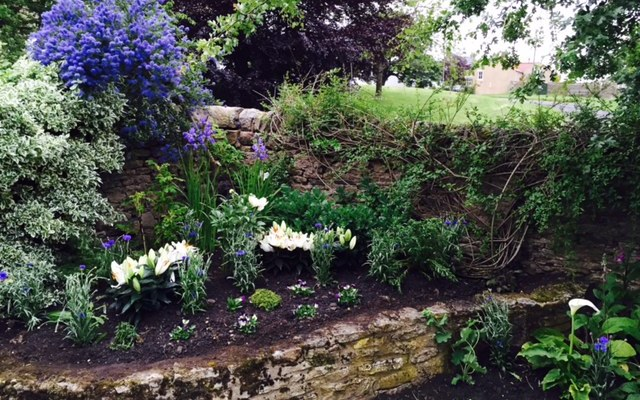 Planting a Medieval Garden in HamsterleyVillage